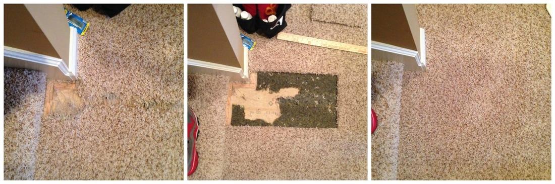 Carpet repair - Benchmark Carpet